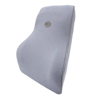 KCB Car Auto Season Universial Bamboo Charcoal Memory Cotton BackRest Cushion Back Pillow Mat - intl - 2