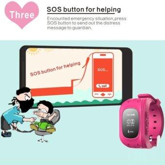 Kids Safe GPS/GSM Watch Wristwatch SOS Call Anti Lost Smartwatch For Kids-Q50 - intl - 5