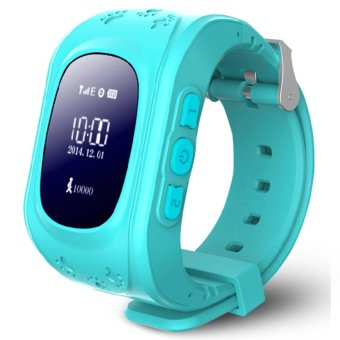 Kids Safe GPS/GSM Watch Wristwatch SOS Call Anti Lost Smartwatch For Kids-Q50 - intl