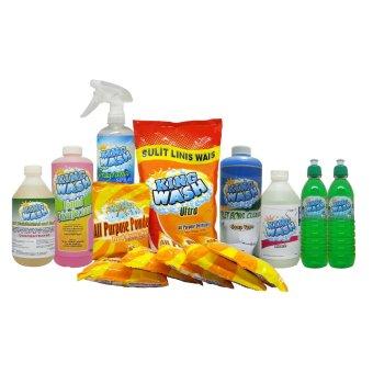 KINGWASH Household Cleaning Set