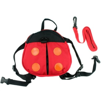 Kintergarden Children Baby Kids Backpacks Keeper Toddler Walking Safety Harness Bag Strap Rein Bat Ladybird Satchel - intl Price Philippines