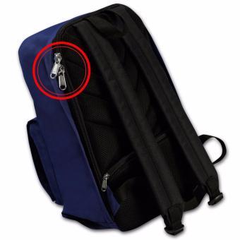 KISHU travel backpack / Hidden zippers/ Anti theft / Laptop /Premium (BLUE) - 3