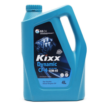 Kixx Dynamic CF-4/SG 15W40 Premium Performance Semi-Synthetic Diesel Engine Oil (4 Liters)