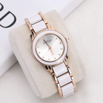 Korean-style are waterproof bracelet fashion watch ceramic women's watch