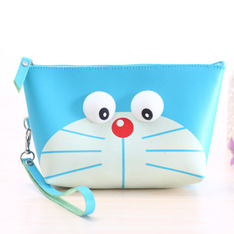 Korean style large capacity portable cosmetic bag