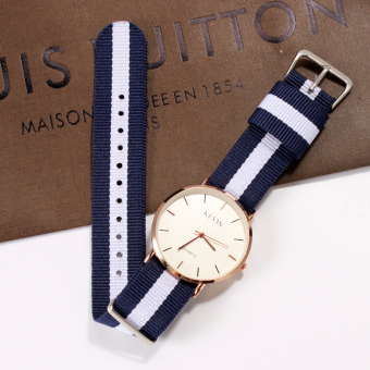 Korean-style student cloth belt watches couple's watches