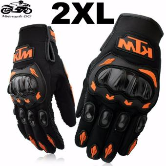 KTM Gloves For Motorcycle/Cycling/Sports/Skiing/Climbing Size XXL (Orange/Black) Price Philippines