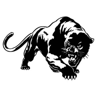 Kuhong LEOPARD for Truck & Cars Vinyl Decal Sticker ScratchSticker - intl