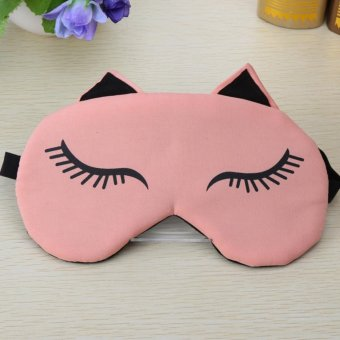 Ladies Sleep Mask Eye Mask Sleeping Mask with Cooling Pad forTravel - intl