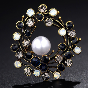 Lan Ting ornaments good Ou Meinan female brooch buckle coat corsage brooch
