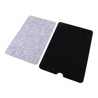 Laptop Sleeve Case Anti-scratch Cover + Mouse Pad For Macbook Air Pro Retina(11inch Black) - intl