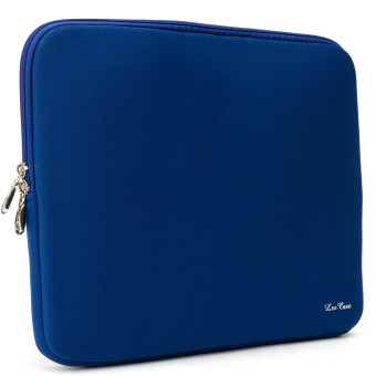 Laptop Soft Case Bag Cover Sleeve Pouch For Apple 14'' Macbook Pro/Air Notebook Blue - Intl