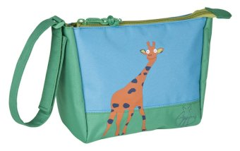 Lassig Wildlife Giraffe Wash Bag (Blue/Green)