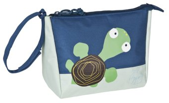 Lassig Wildlife Turtle Wash Bag (Ivory/Blue)
