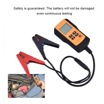 LCD Backlight Display Shockproof 12V Car Vehicle Digital Battery Tester Automotive Analyzer - intl