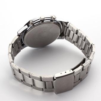 Leather Analog Quartz Leisure Sports Business Steel Strip Watch