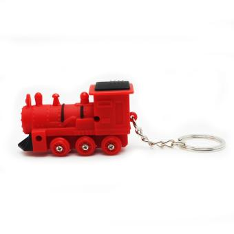 LED Keychain (Mini Train/Red) - 2
