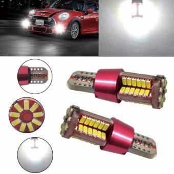 LED T10 SMD 57 led parking light blue - 2