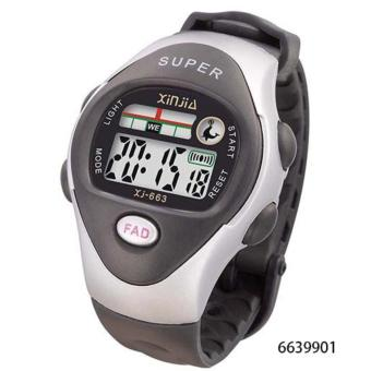 LED Water Resistant Sports Watch For Kid's Unisex Plastic Strap XJ-663