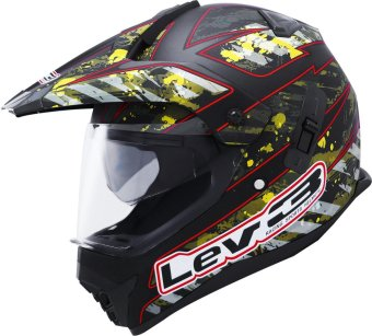 Lev3(R) DualSport Motard BJ-8910 Army Motorcycle Helmet(Matte/Black/Camouflage) Price Philippines