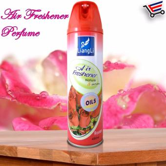LiangLi Odor Eliminator Air Freshener Spray 480mL (Roses) Price Philippines
