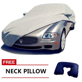 Lightweight Nylon Car Cover for Sedan Cars with FREE Neck Pillow