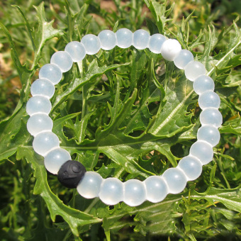 Lokai Bracelet White 4 Sizes - intl