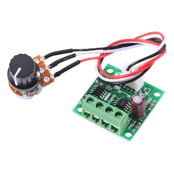 Low Voltage DC 1.8V to 15V 2A Mini PWM Motor Speed Controller Regulator Control Module - intl