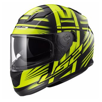 LS2 Full-Face FF320 Bang Helmet (Black/Yellow)