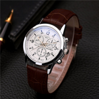Lsvtr quartz waterproof Business Watch steel chain watch