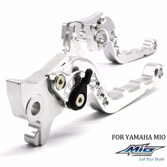 LTC Racing Break Lever for Yamaha Mio (Silver)