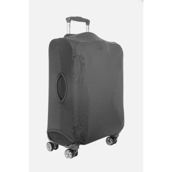 Luggage Cover Plain Small Black
