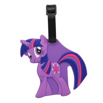 Luggage Tag (Little Pony - Violet) Price Philippines