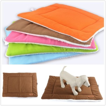 M Small Medium Extra Large Pet Dog Crate Mat Kennel Cage Pad Bed Cushion Coffee - Intl