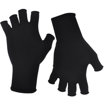 M1 G3 Black Half-Finger Motorcycle Gloves (Thailand)