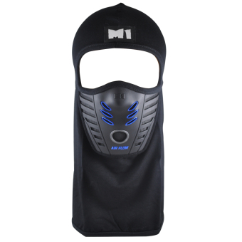 M1 M3 Blue Motorcycle Hood with Air Flow (Thailand)