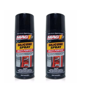 MAG 1 All Purpose Silicone Spray 10.5oz (310ml) PN440 (Pack of 2)