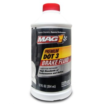 MAG 1 DOT-3 Premium Brake Fluid 12oz (354ml) PN#122