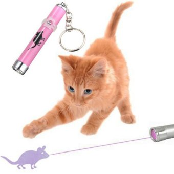Makiyo LED laser pointer light pen, mouse pattern toy for pet cat -intl Price Philippines