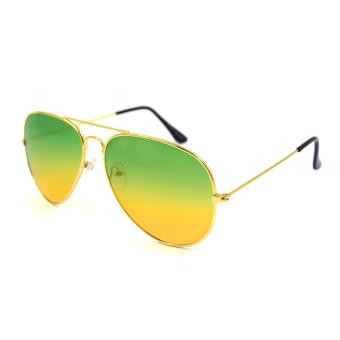 Maldives 000-Y Harper Sunglasses (Gradient Green Yellow/Gold) - picture 2
