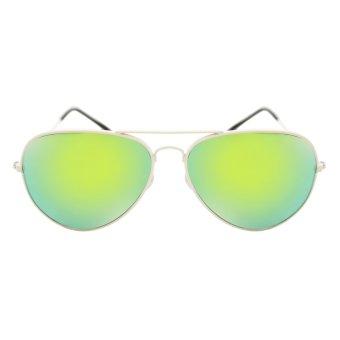 Maldives 000-Y Harper Sunglasses (Ocean Blue Green/White)