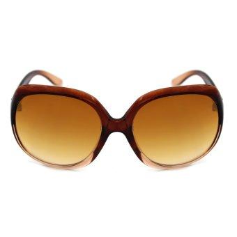 Maldives 7161-Y Ruffa Women's Summer Sunglasses (Gradient Brown/Brown)