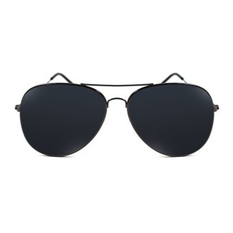 Maldives Harper Sunglasses (Black/Metallic Black)