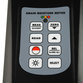 MC-7828G Gain Express Digital Grain Moisture Meter Rice Corn WheatCottonseed Rice Peanut Damp Tester Gauge with LED Indicator - Intl - 4