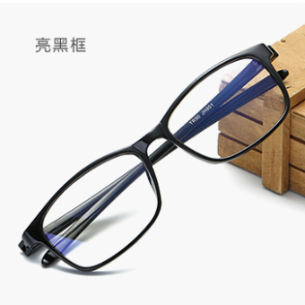 Men and women Anti-Blueray plain mirror radiation glasses