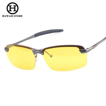 Men Night and Day Dimming Night Vision Driving Polarized Sunglasses Men Aluminum Magnesium Male Sunglasses Glasses - Intl Price Philippines