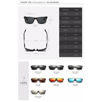 Men Polarized Sunglasses Aluminum Magnesium Sports Sun GlassesDriving Outdoor Glasses Rectangle Shades S'8571 - Intl - 2