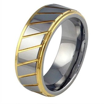 Men'S Titanium Steel Rings (Intl)
