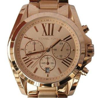 Michael Kors Bradshaw Chronograph Unisex Rose Gold Stainless Steel Strap Watch MK5503 - 2