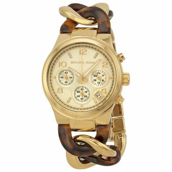 MICHAEL KORS Chain Link Acrylic Gold-tone Ladies Watch Price Philippines